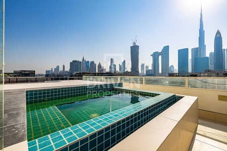 4 Bedroom Penthouse for Sale in Jumeirah, Dubai - Stunning Penthouse| Boulevard and Burj View