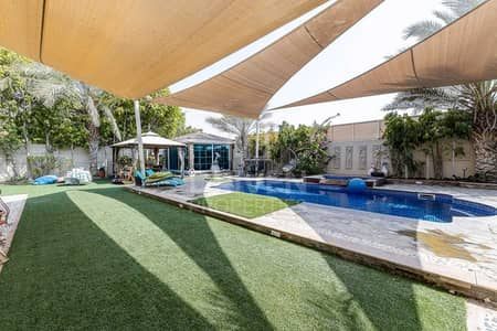 4 Bedroom Villa for Rent in Jumeirah Park, Dubai - Fully Upgraded and Huge with Private Pool
