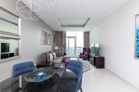 فلیٹ 2 غرفة نوم للايجار في وسط مدينة دبي، دبي - Furnished   High Floor   Biggest Layout