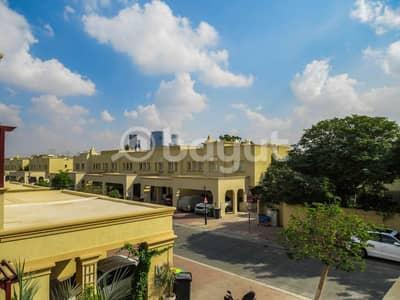 تاون هاوس 3 غرف نوم للايجار في الينابيع، دبي - تاون هاوس في الينابيع 9 الينابيع 3 غرف 95000 درهم - 4915546
