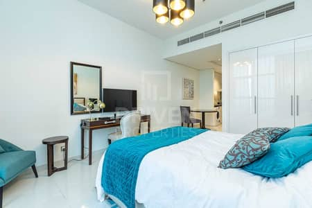 Studio for Rent in Jumeirah Village Circle (JVC), Dubai - Fully Furnished   Mid floor   Brand new