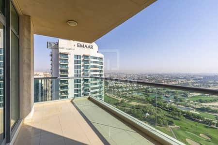 شقة 2 غرفة نوم للايجار في ذا فيوز، دبي - Golf view   High Floor   Ready to move in
