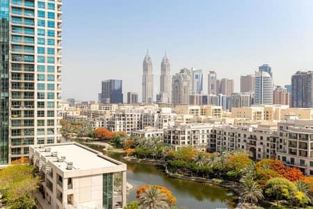 فلیٹ 2 غرفة نوم للايجار في ذا فيوز، دبي - Upgraded kitchen   Golf views   Spacious