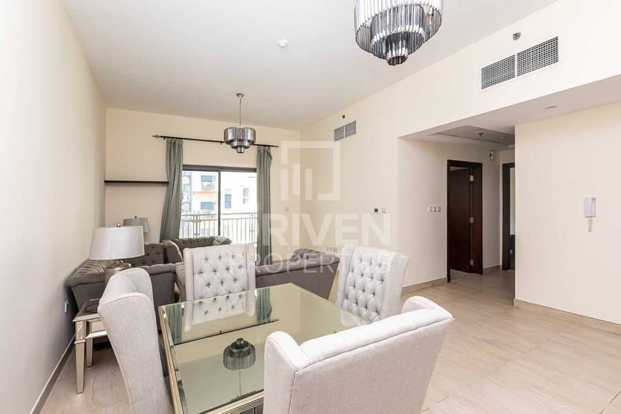 Furnished and Ready to move in 1 Bed Apt