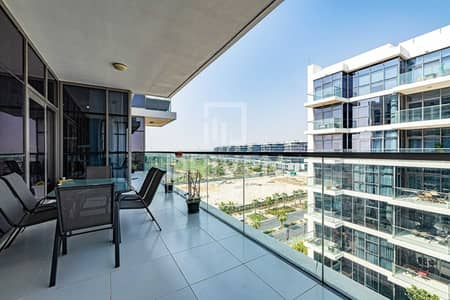 2 Bedroom Apartment for Sale in DAMAC Hills (Akoya by DAMAC), Dubai - Spacious and Furnished Apt plus Maids Room