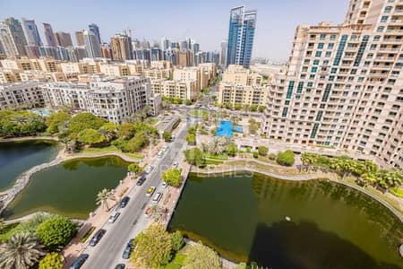 فلیٹ 2 غرفة نوم للايجار في ذا فيوز، دبي - Golf Views 2 Bed Apartment