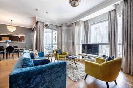 فلیٹ 3 غرف نوم للبيع في وسط مدينة دبي، دبي - Upgraded Apt with Burj and Fountain View