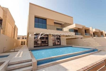 5 Bedroom Villa for Rent in Saadiyat Island, Abu Dhabi - An Elegant And Beautiful Villa w/ Private Pool