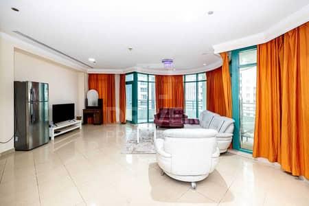 فلیٹ 4 غرف نوم للبيع في دبي مارينا، دبي - High Floor and Sea View Apt w/ Maid Room
