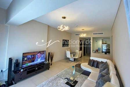 فلیٹ 2 غرفة نوم للايجار في جزيرة الريم، أبوظبي - Impressive Fully Furnished with Scenic Balcony