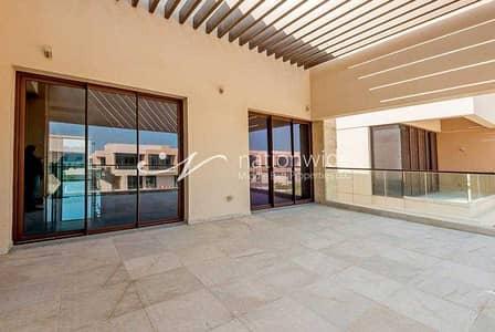 فیلا 5 غرف نوم للايجار في جزيرة السعديات، أبوظبي - Live By The Sea In This Stunning Luxurious Villa