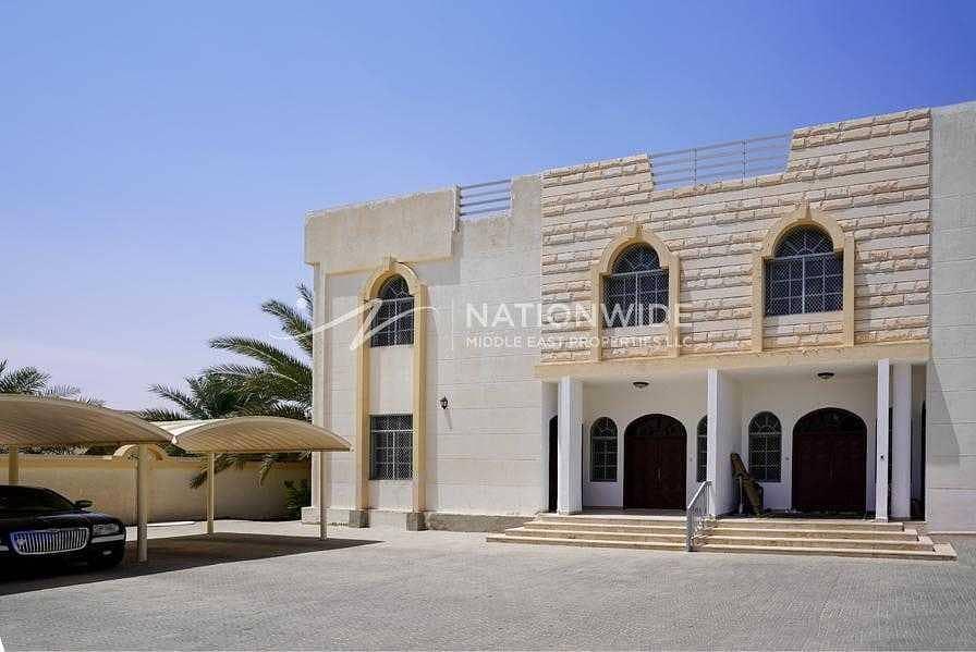 Bright Spacious 4 Bhk villa +2 majlis in Al khabisi