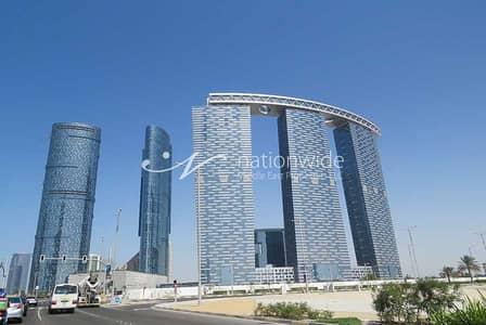فلیٹ 1 غرفة نوم للبيع في جزيرة الريم، أبوظبي - A Furnished Apartment w/ Sea View + Rental Back