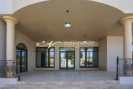 7 Bedroom Villa for Rent in Al Nyadat, Al Ain - A very large villa with  7 bedrooms in Al sarooj  waiting for you