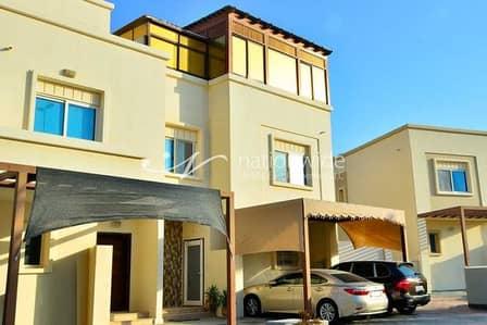 4 Bedroom Villa for Sale in Al Reef, Abu Dhabi - An Affordable Semi-Single Row Arabian Villa