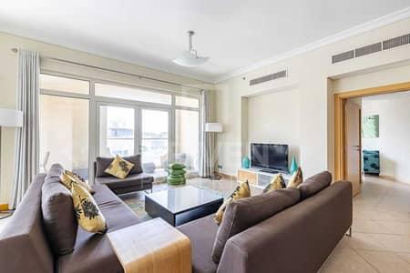 شقة 3 غرف نوم للايجار في نخلة جميرا، دبي - Furnished   Chiller Free   Beach Access