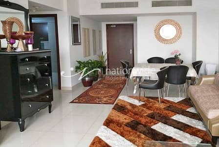 1 Bedroom Apartment for Rent in Al Reem Island, Abu Dhabi - A Beautifully Furnished Unit With Balcony