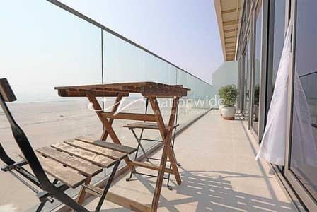فلیٹ 2 غرفة نوم للايجار في جزيرة السعديات، أبوظبي - Enjoy A Panoramic Sea View In This Cozy  Apartment