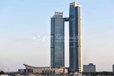 فلیٹ 2 غرفة نوم للايجار في منطقة الكورنيش، أبوظبي - High Floor Residence with Full Facilities