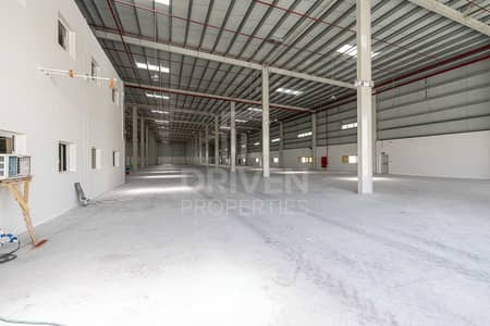 Warehouse for Rent in Dubai Industrial Park, Dubai - Brand New Warehouse in DIC   Huge Plot