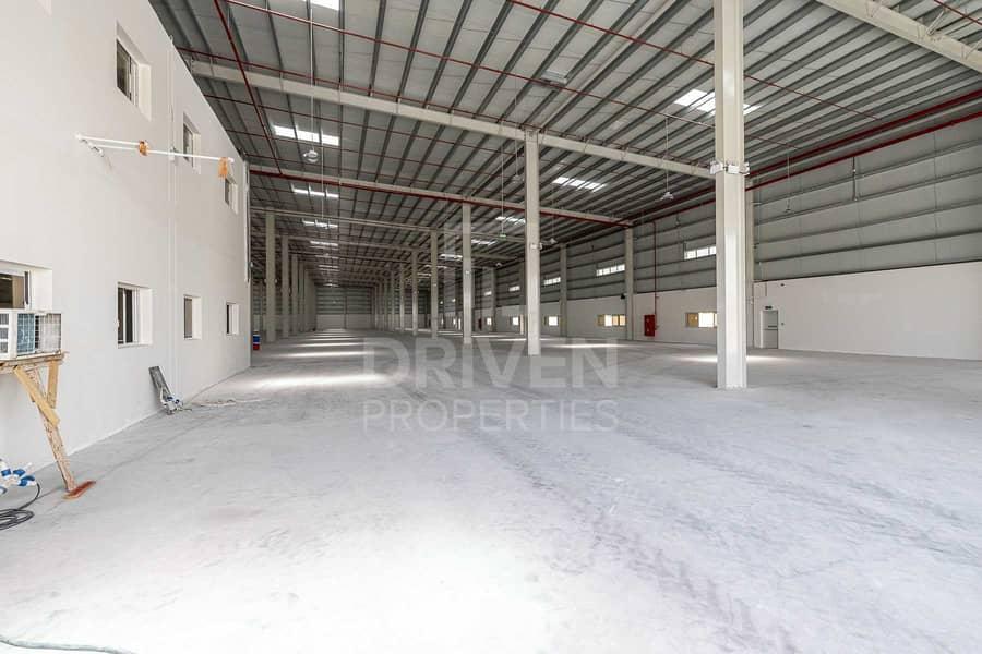 Brand New Warehouse in DIC | Huge Plot
