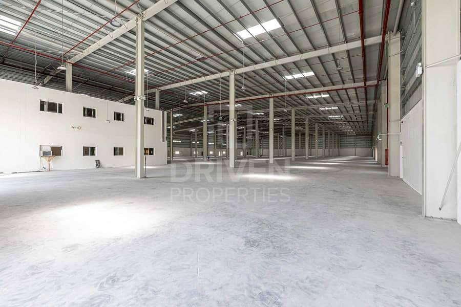 2 Brand New Warehouse in DIC | Huge Plot