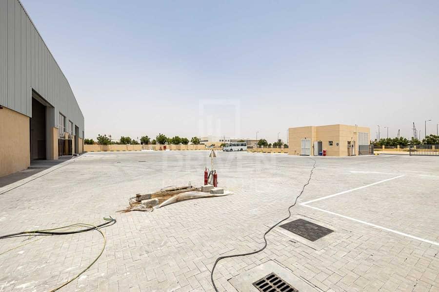 23 Brand New Warehouse in DIC | Huge Plot
