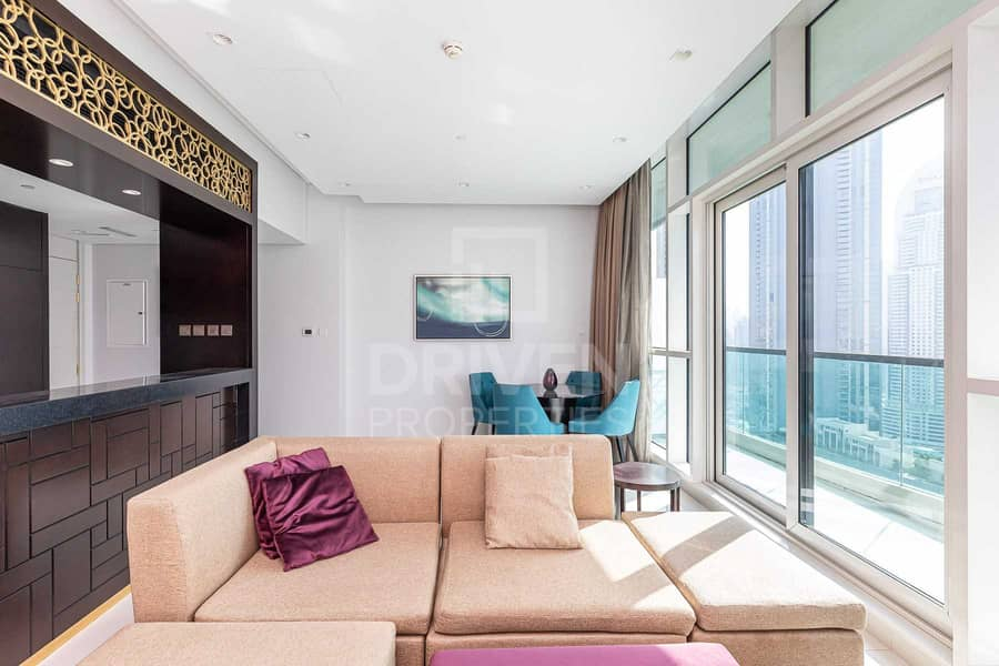 2 Fully Furnished | High Floor | Stunning
