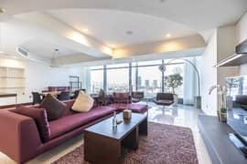 شقة في جميرا ليفنج مساكن جميرا ليفنج بالمركز التجاري العالمي مركز دبي التجاري العالمي 2 غرف 2750000 درهم - 5185951