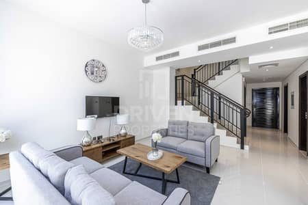 4 Bedroom Townhouse for Sale in DAMAC Hills 2 (Akoya Oxygen), Dubai - Furnished and Stunning   Ready to move In