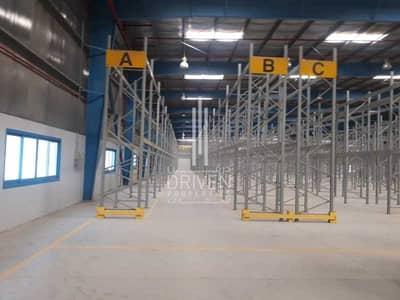 مستودع  للايجار في جبل علي، دبي - For Rent Furnished Big Warehouse in JAFZA
