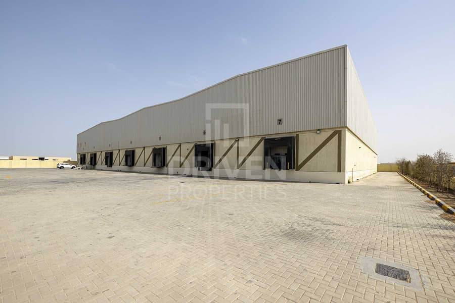 Temperature Controlled cold storage in DIC