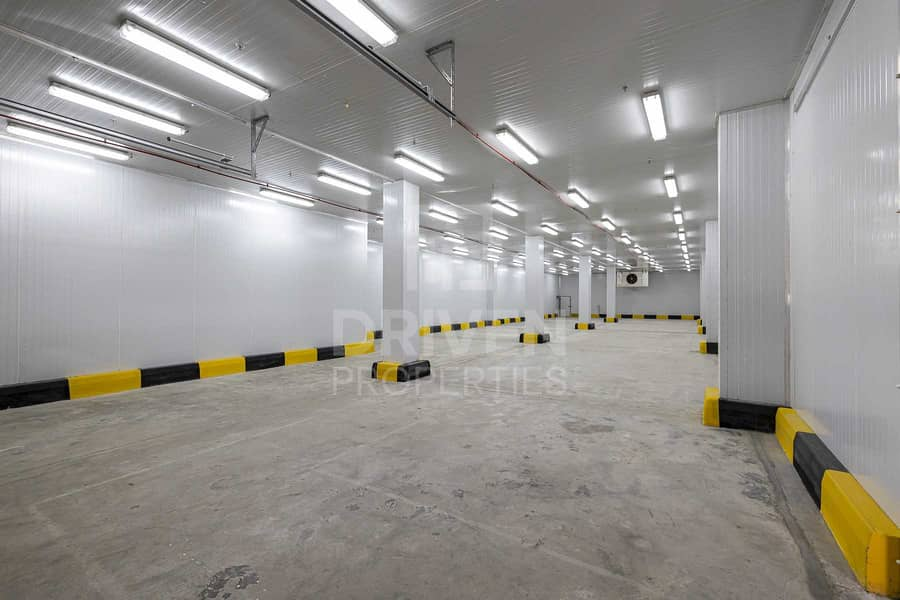 30 Temperature Controlled cold storage in DIC