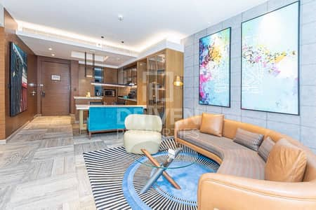 1 Bedroom Flat for Rent in Palm Jumeirah, Dubai - Fully Furnished and Elegant 1 Bedroom Apt