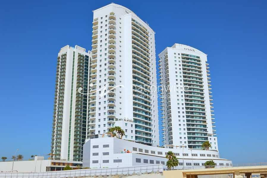 10 Panoramic Sea View + 2 Balconies + Rent Refund