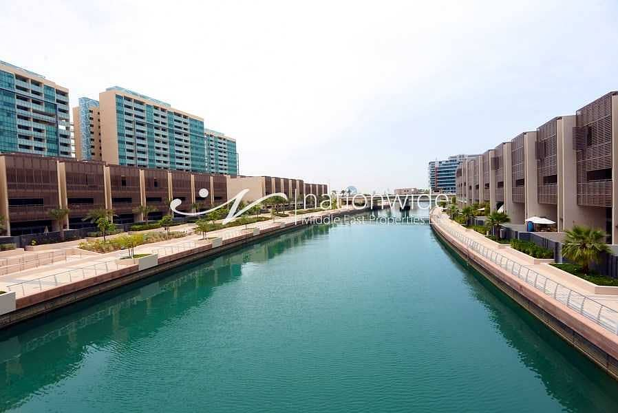 Rare Opportunity to Own this Unit w/ Canal Views