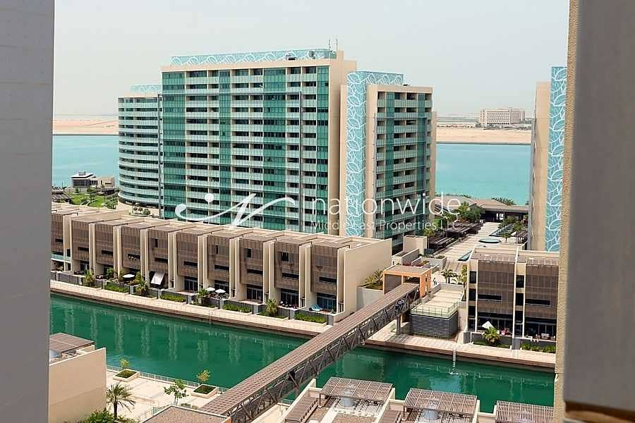 13 Rare Opportunity to Own this Unit w/ Canal Views