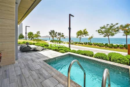 4 Bedroom Townhouse for Sale in Bluewaters Island, Dubai - Vacant   Private Pool   Furnished   Amazing Views