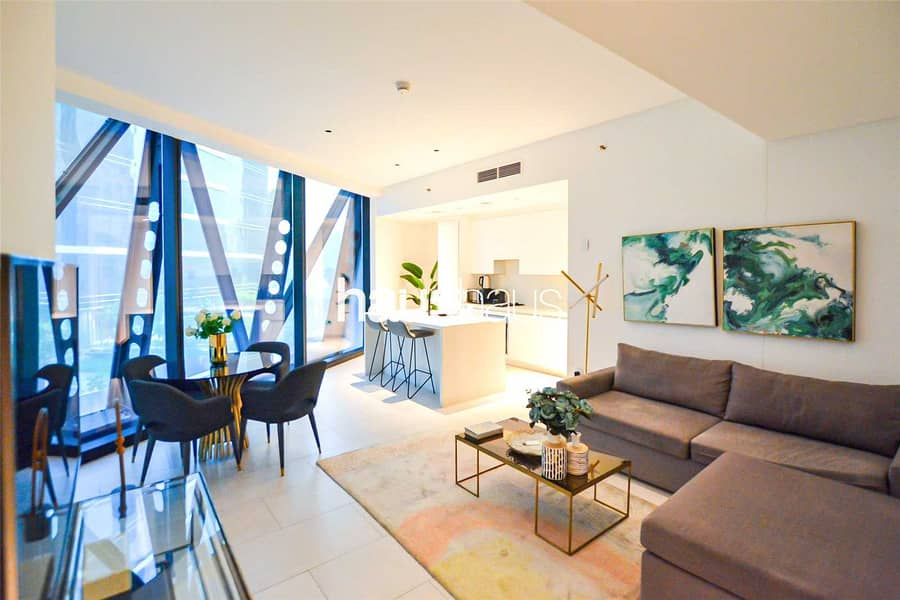 Exclusive | Contemporary 1BR Furnished