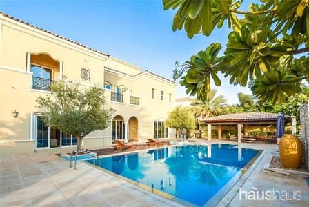6 Bedroom Villa for Sale in Arabian Ranches, Dubai - Stunning Golf Course View | Luxury Villa | Huge Pl