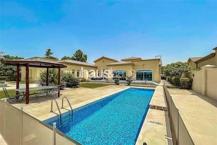 فیلا 5 غرف نوم للبيع في المرابع العربية، دبي - Amazing Golf Home| Large solarium and private pool