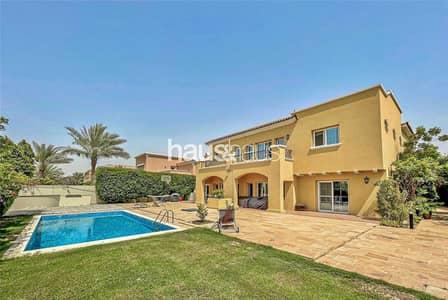 6 Bedroom Villa for Sale in Arabian Ranches, Dubai - Golf Course Views | Private Pool | Quiet Location
