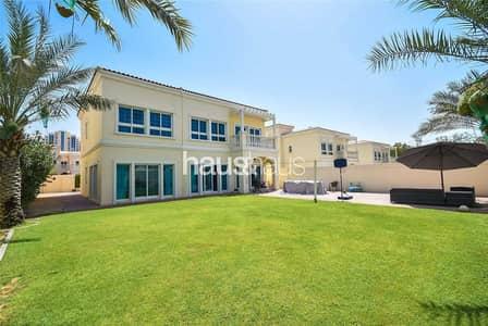 فیلا 5 غرف نوم للبيع في قرية جميرا الدائرية، دبي - Genuine Listing | Large Plot | Fully upgraded