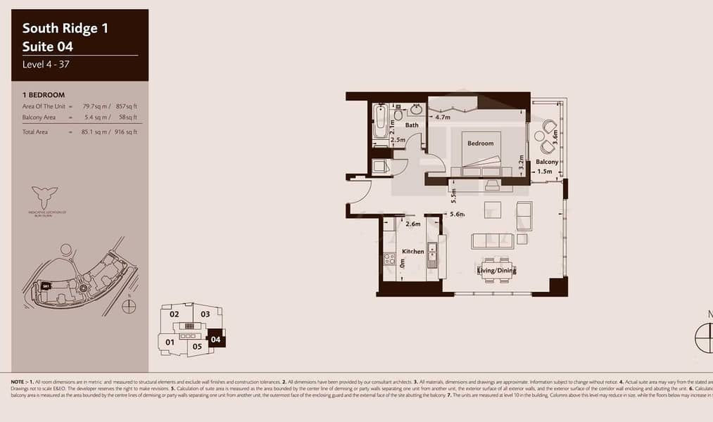 11 Square Layout   Low Floor   Tenanted Investment