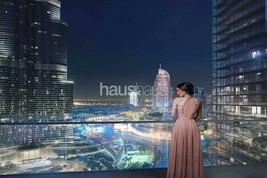 2 Half Floor Penthouse   Burj Views   Payment Plan