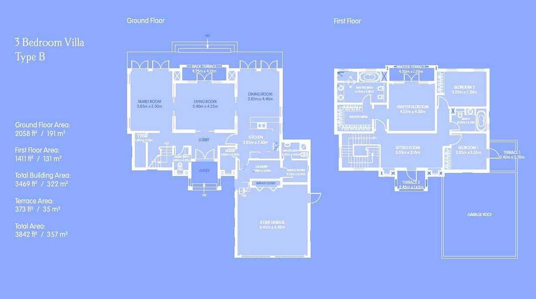 11 3 Bed + Maids | Dubai Style | Independent Villa