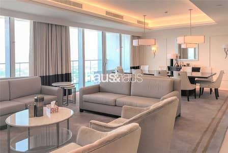 4 Bedroom Apartment for Rent in Downtown Dubai, Dubai - 4 Bed Plus Maids   Fully Serviced   Bills Included
