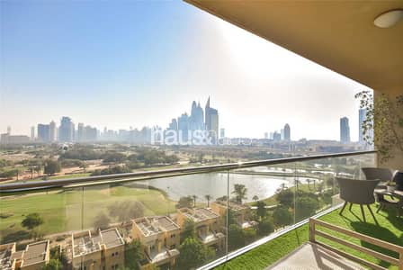 2 Bedroom Apartment for Sale in The Views, Dubai - 2 Bedrooms  Golf and Marina View  Largest Balcony