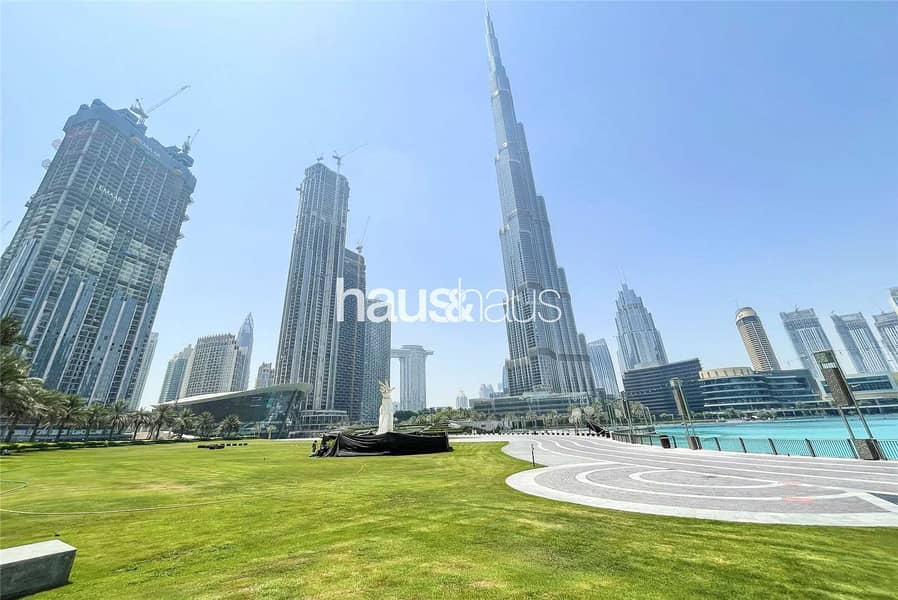 Full floor | Burj and fountains on your doorstep