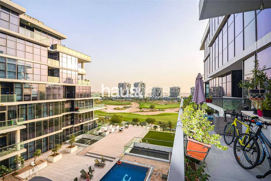 Genuine Listing | Stunning Golf Views | Balcony